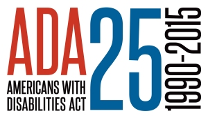 ADA Americans with Disabilities ACT, 25, 1990-2015