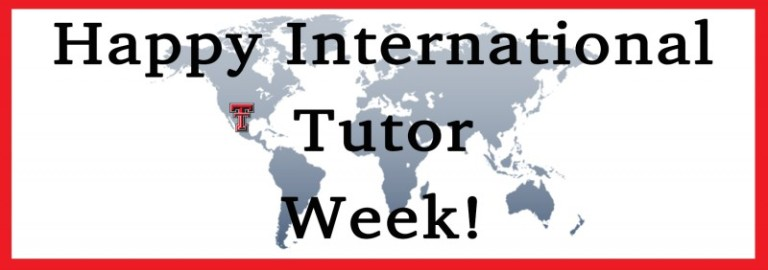 Happy International Tutor Week!